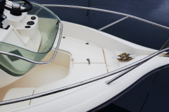 proa de la embarcacion de alquiler y salidas de pesca