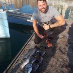 pesca de lubina con lancha titulin