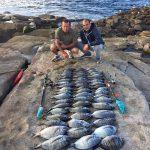 pesca en cabo peñas asturias
